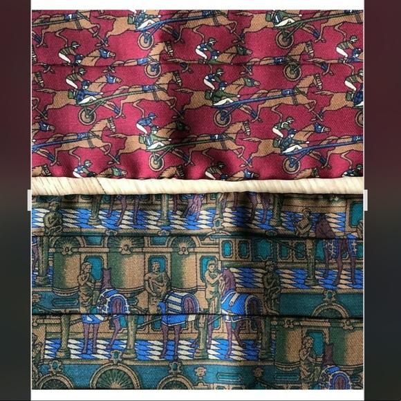 Salvatore Ferragamo Other - (2) Vintage SALVATORE FERRAGAMO Silk Cummerbunds